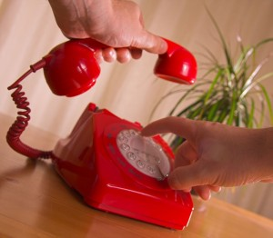 Telephone for contact page