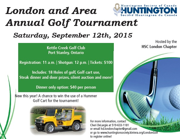 London and Area Annual Golf Tournament