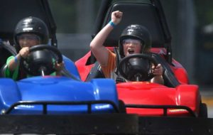 Go-karts will help raise funds for Huntington Society