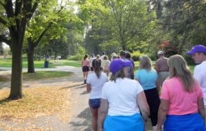 Founders Walk raises nearly $24,000 for Huntington's disease research, treatment